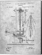 Windmill Patent - Slate Fine-Art Print