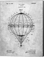 Balloon Patent - Slate Fine-Art Print