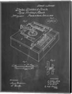 Type Writing Machine Patent - Chalkboard Fine-Art Print