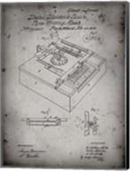 Type Writing Machine Patent - Faded Grey Fine-Art Print