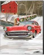 57 Chevy Christmas Fine-Art Print