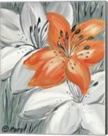 Tiger Lily in Orange Fine-Art Print
