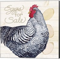 Life on the Farm Chicken I Fine-Art Print