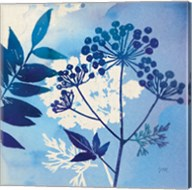 Blue Sky Garden I Fine-Art Print