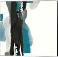 Black and Teal II Fine-Art Print