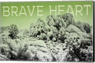 Ombre Adventure V Brave Heart Fine-Art Print