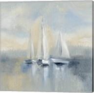 Morning Sail I Blue Fine-Art Print