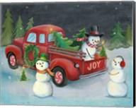 Christmas on Wheels II Light Fine-Art Print