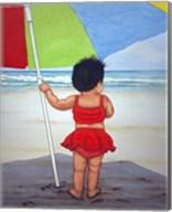 Beach Baby K Fine-Art Print