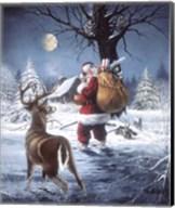 Santas Secret Fine-Art Print