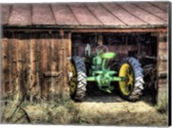 Deere in the Barn Fine-Art Print