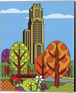 Cathedral Of Learning Pittsburgh Fine-Art Print