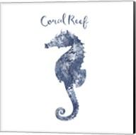 Seahorse Coral Reef Fine-Art Print