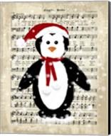 Christmas Penguin Fine-Art Print