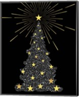 Park Avenue Starry Christmas Tree Fine-Art Print