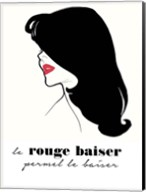 Rouge Baiser Fine-Art Print