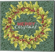 Holly Wreath Fine-Art Print
