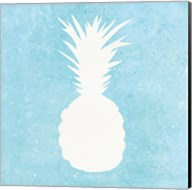Tropical Fun Pineapple Silhouette I Fine-Art Print