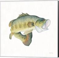 Gone Fishin Large Mouth Fine-Art Print