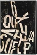 Type Abstraction II Fine-Art Print