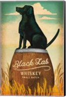 Black Lab Whiskey Fine-Art Print
