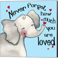 Never Forget Elephant Fine-Art Print