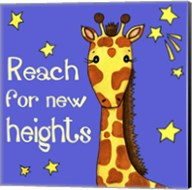 New Heights Giraffe Fine-Art Print