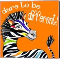 Different Zebra Fine-Art Print