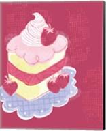 Strawberry Short Cake Fine-Art Print