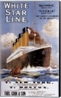 White Star Line Fine-Art Print