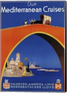 Mediterranean Cruises Fine-Art Print