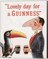 Lovely Day for a Guinness Fine-Art Print