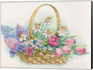 Basket of Flowers Fine-Art Print
