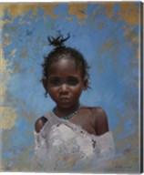 Girl Blue Fine-Art Print