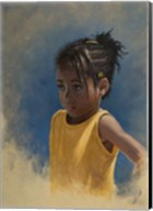 Girl Yellow Fine-Art Print