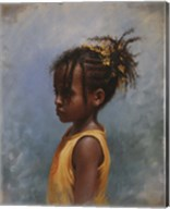 Yellow Girl Fine-Art Print