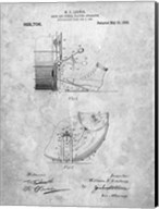 Drum and Cymbal Playing Apparatus Patent Fine-Art Print