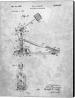 Drum Beating Mechanism Patent Fine-Art Print