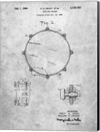Drum Key Holder Patent Fine-Art Print