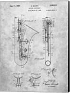 Selmer Musical Instrument Patent Fine-Art Print