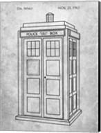 Dr. Who - Police Box Fine-Art Print