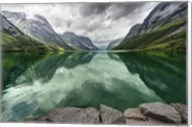 Norway- Mountain Landscape Fine-Art Print