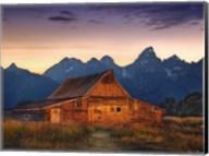 Sunset in the Desert III Fine-Art Print
