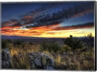 Sunset in the Desert IV Fine-Art Print