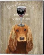 Dog Au Vin, Cocker Spaniel Fine-Art Print