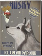Husky Ice Cream Fine-Art Print