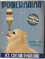 Pomeranian Ice Cream Fine-Art Print