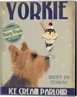 Yorkshire Terrier Ice Cream Fine-Art Print