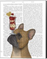 French Bulldog Ice Cream Fine-Art Print