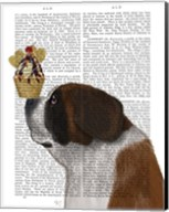 St Bernard Ice Cream Fine-Art Print